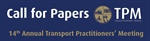 Transport Practitioners' Meeting 2016 – Call for Papers (and an autumnal holiday rant)